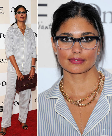 Rachel Roy Red Carpet event pajamas suit