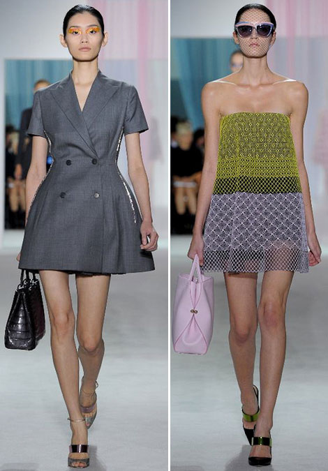 Raf Simons First Dior Collection: Christian Dior Spring Summer 2013