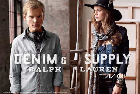 Ralph Lauren Denim and Supply fall 2012 ad campaign