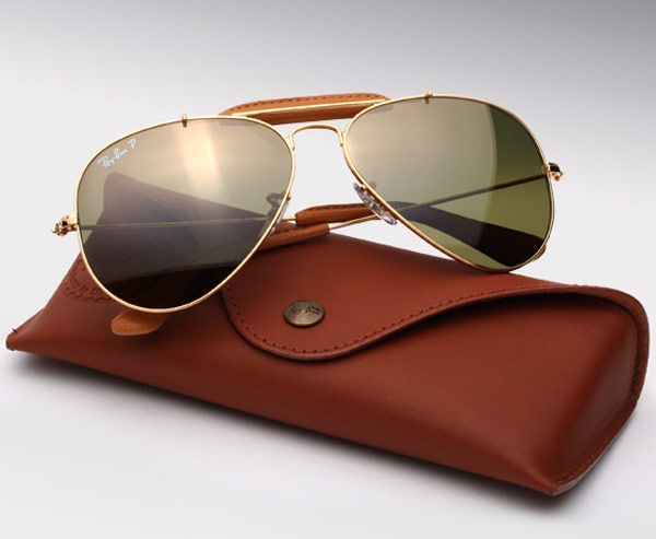 Ray Ban Craft Leather Aviators 1