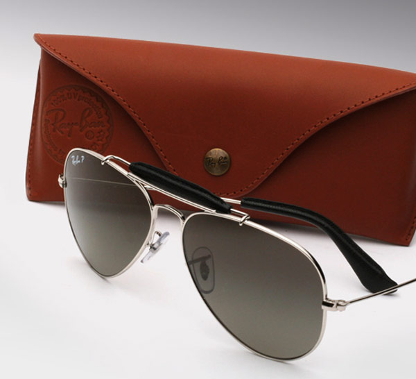 Ray Ban Craft Leather Aviators 3