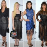 Red Carpet dresses trend See Through Uma Elle Nina Lea