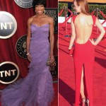 Regina King Ahna O Reilly 2012 SAG Awards Red Carpet