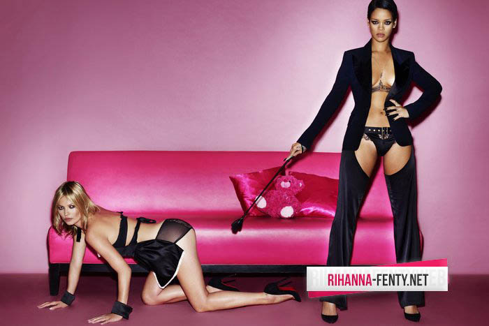 Have You Seen Rihanna And Kate Moss Getting Intimate For V Magazine?