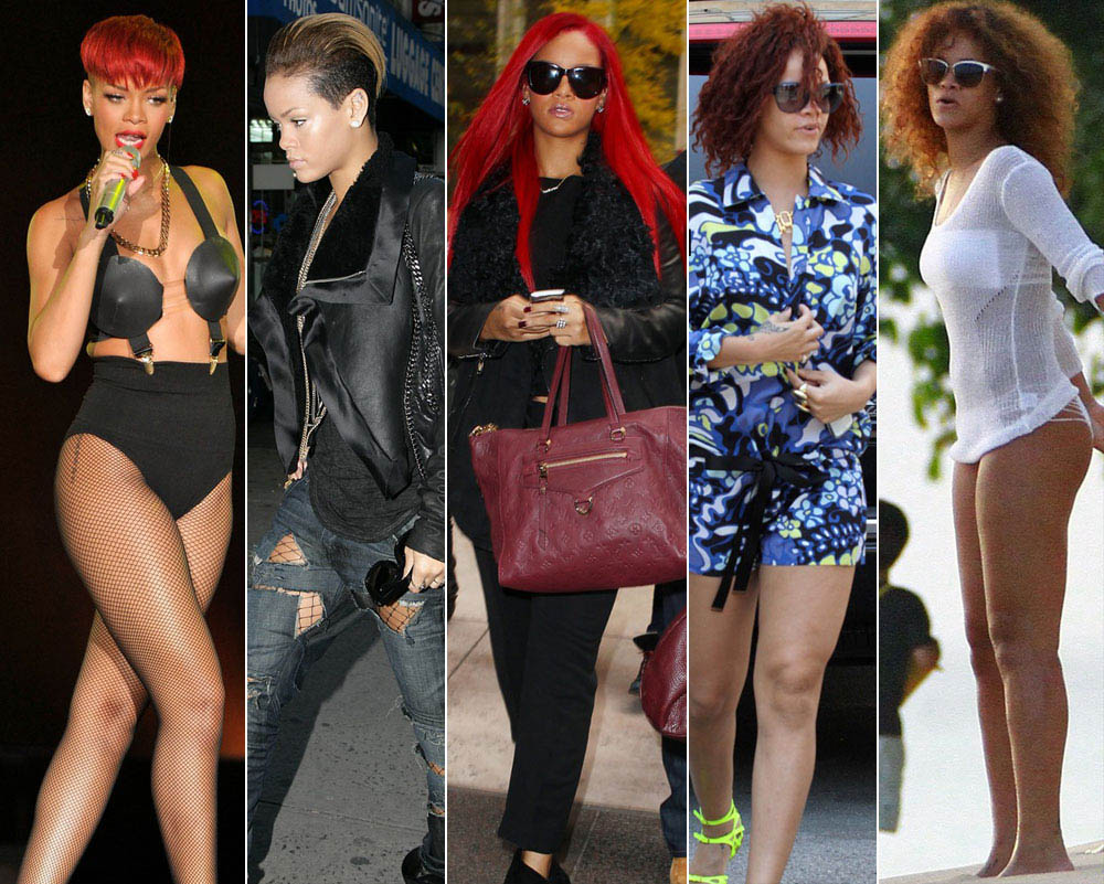 Rihanna s hairstyle always changing