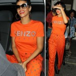 Rihanna wears Kenzo Paris