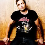 Robert Pattinson Balenciaga t shirt