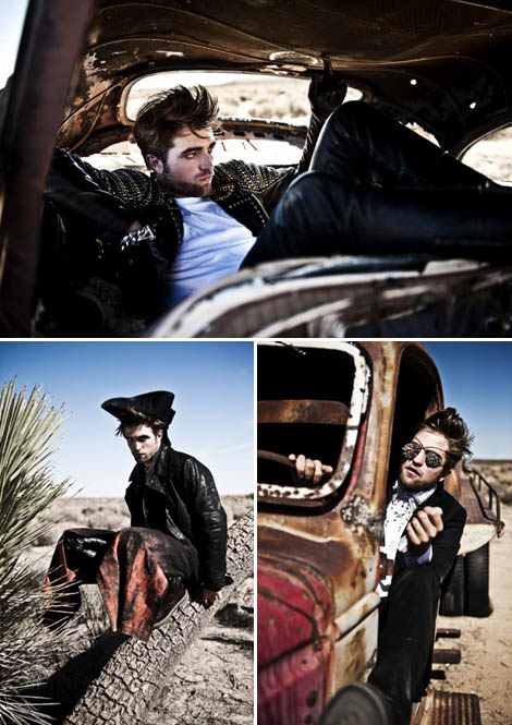 Ready For Breaking Dawn? Robert Pattinson Is L'Uomo Vogue