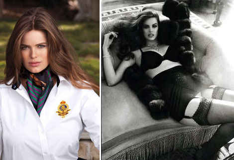 Robyn Lawley, Ralph Lauren&#8217;s Plus Size Model