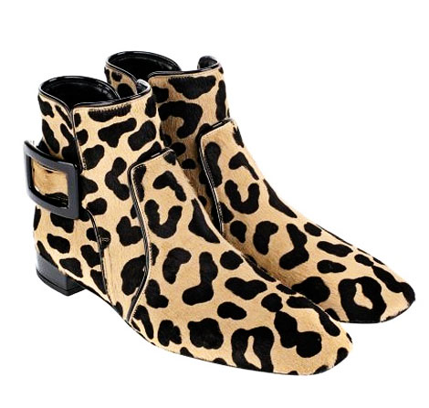 Get Your Inner Feline In Motion With Roger Vivier Leopard Booties