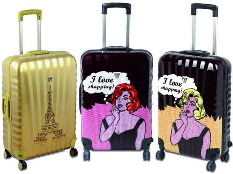 Roncato&#8217;s I Love Shopping Luggage