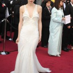Rooney Mara in white Givenchy dress 2012 Oscars Red Carpet