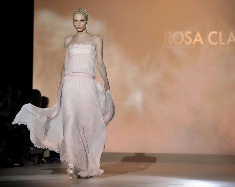 Andrej Pejic, The Catwalk Bride. For Rosa Clara