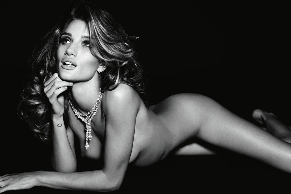 Rosie Huntington Whiteley Vogue Deutsch 2011