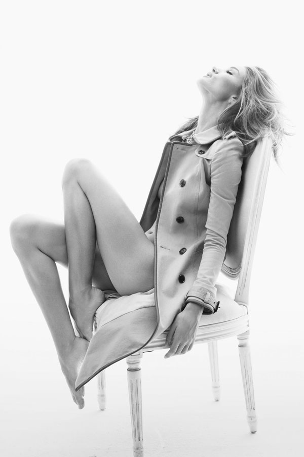 Rosie Huntington Whiteley Takes Her Clothes Off For Vogue Germany November 2011