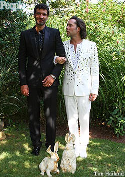 Rufus Wainwright wedding