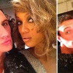 Ryan Lochte and Tyra Banks