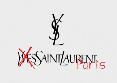 Yves Saint Laurent Vs Saint Laurent Paris Vs Saint Laurent Vs Saint Laurent By Hedi Slimane