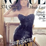 Salma Hayek covers Vogue Germany September 2012