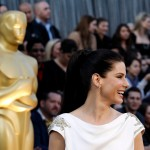 Sandra Bullock hair 2012 Oscars