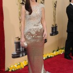 Sandra Bullock Marchesa dress 2010 Oscars 1