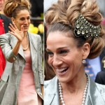 Sarah Jessica Parker headpiece necklace