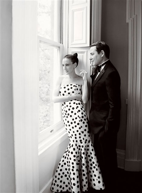 Sarah Jessica Parker with husband Vogue August 2011