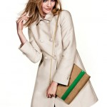 Sasha Pivovarova H and M Fresh Start campaign