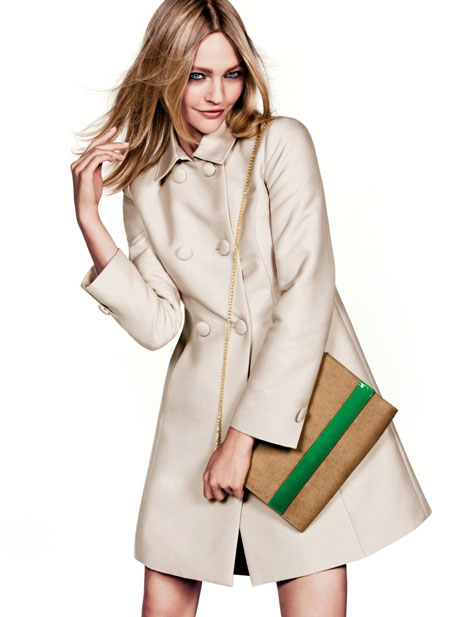 Sasha Pivovarova For H&M Fresh Start