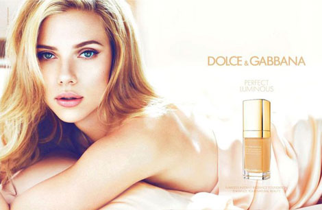 Scarlett Johansson Is Back: Dolce & Gabbana Luminous Ad Campaign