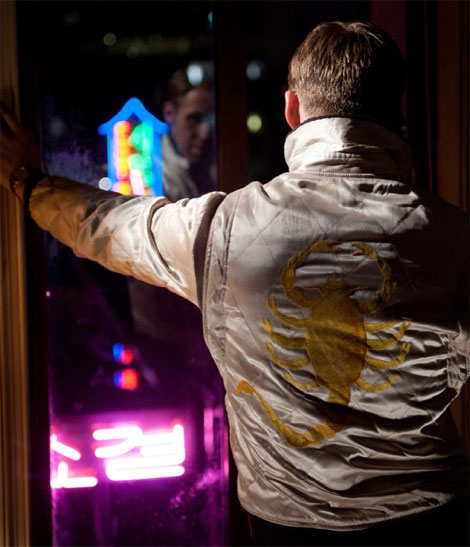 Who Designed Ryan Gosling's Scorpio White Jacket From Drive?