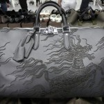 Scott Campbell for Louis Vuitton black bag tattoo