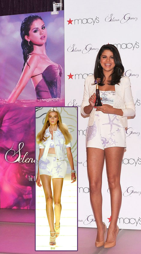 Selena Gomez Launched Her Fragrance At Macy's. Were You There?