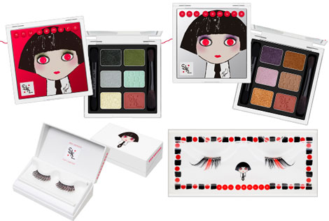 Karl Lagerfeld's Shu Uemura's Collection Looks Like This!