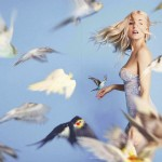 Sienna Miller Vogue birds