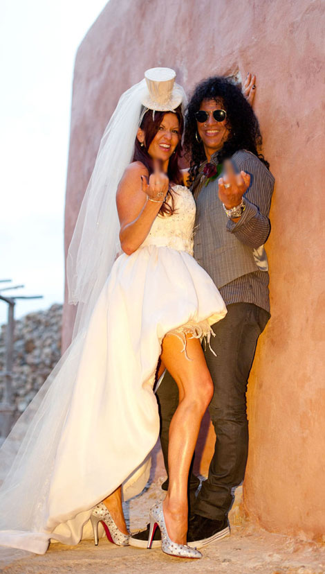 Slash Perla Wedding in Ibiza