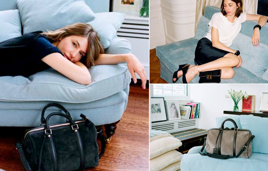 Sofia Coppola s apartment blue couch