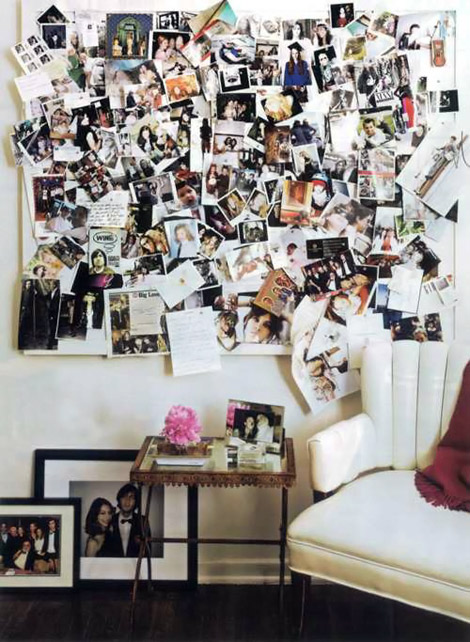 Sofia Coppola s home picture wall