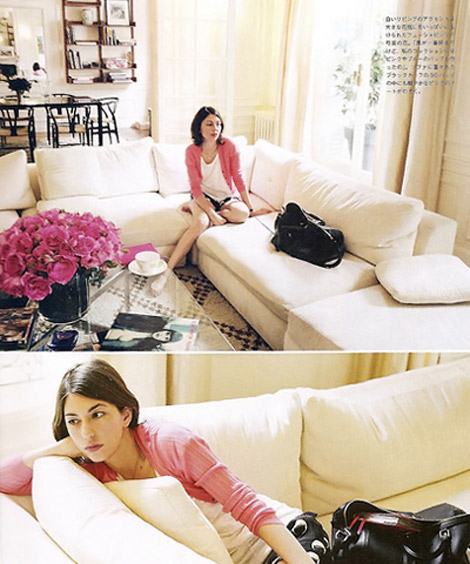 Sofia Coppola s home sectional