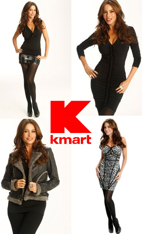 Sofia Vergara Kmart collection