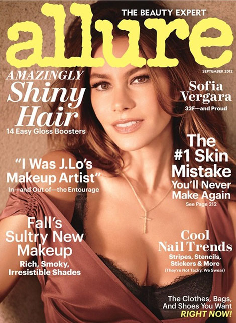Sofia Vergara&#8217;s Lovely Allure September 2012