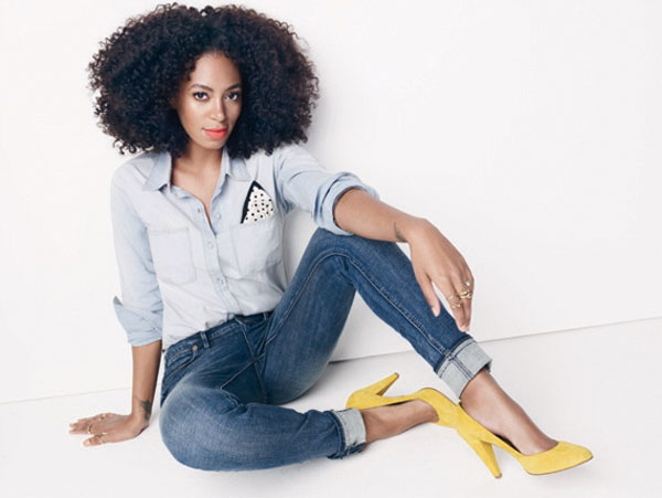 Solange Knowles Charming For Madewell Fall 2012 Ad Campaign