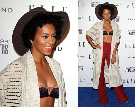 Solange Knowles is a model