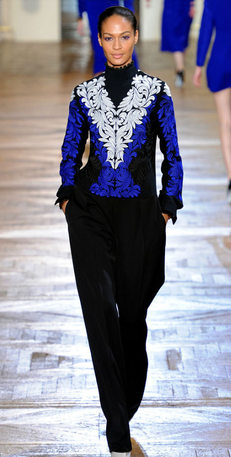 Comfy Cobalt Fall: Stella McCartney Fall Winter 2012 2013 Collection