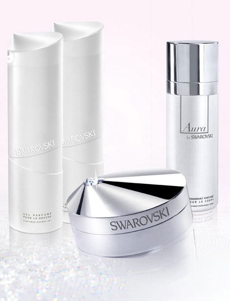 How About Swarovski Perfume And Body Creme?