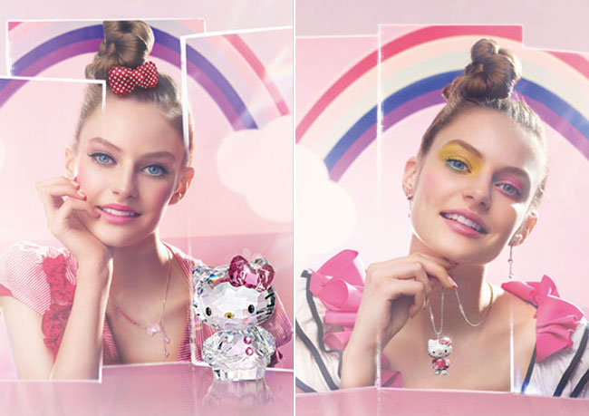 Swarovski Hello Kitty Jewelry and accessories
