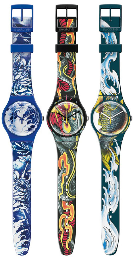 Get A Fancy Tattoo Up Your Sleeve With Swatch!