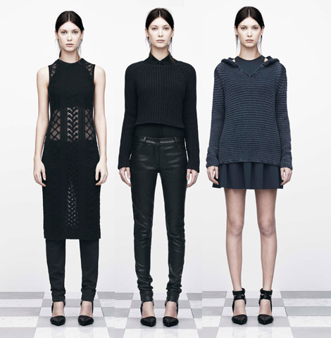 Wear It Any Dark Day: T By Alexander Wang Fall 2012 Collection