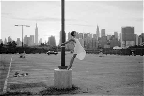 The Ballerina Project parking lot