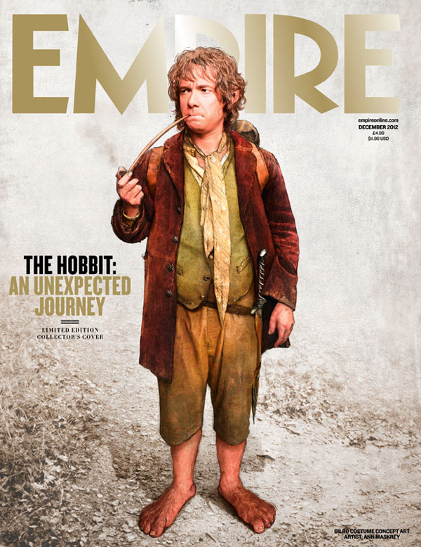 The Hobbit An Unexpected Journey Empire Subscribers cover